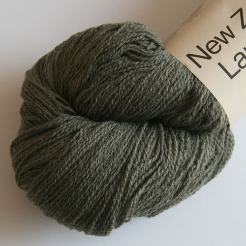 New Zealand lammeuld - Støvet grøn (105) - 100 g