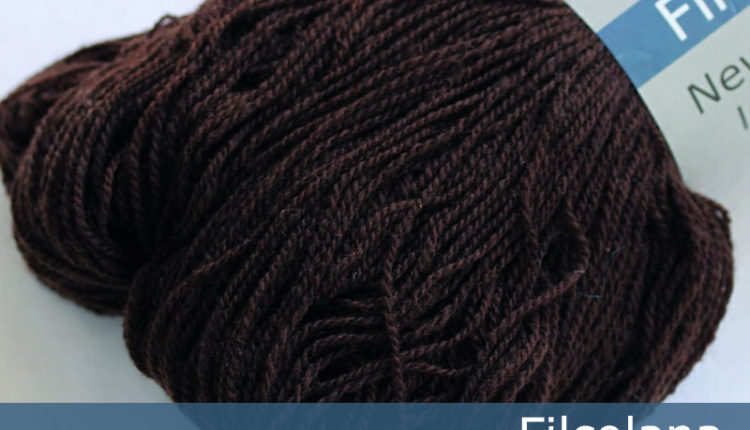 New Zealand lammeuld - Kaffe (262) - 100 g