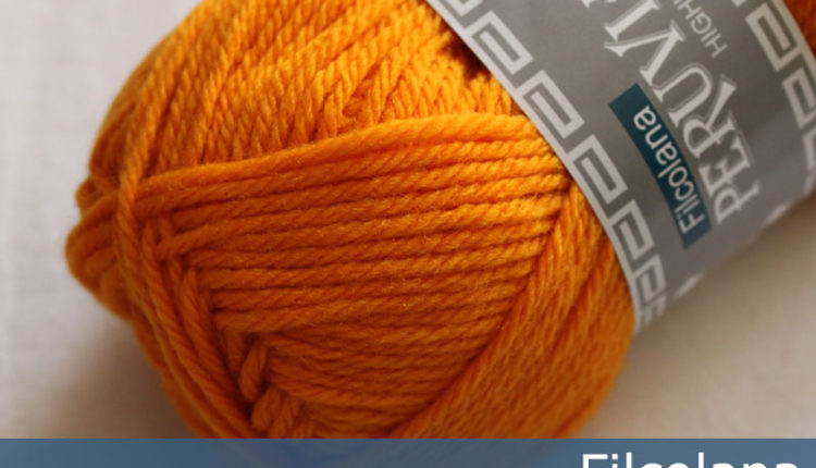 Peruvian Highland Wool - Kumquat orange (284) - 50 g