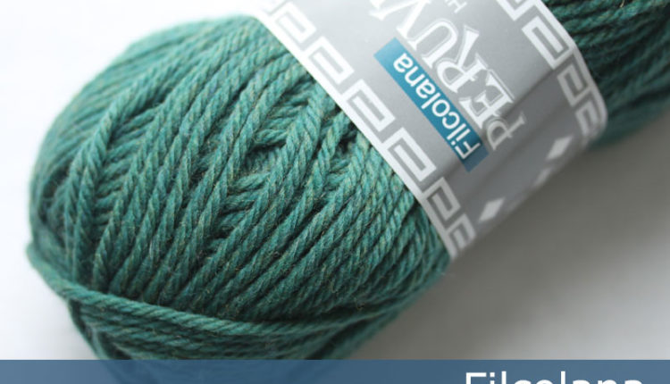Peruvian Highland Wool - Sea Green (melange) (801) - 50 g