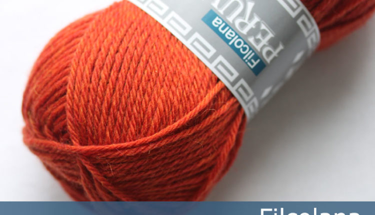 Peruvian Highland Wool - Rust Orange (melange) (803) - 50 g