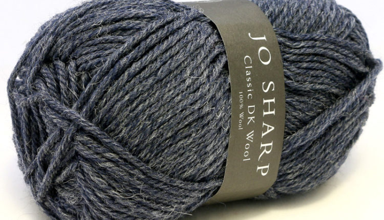 Classic DK Wool - Heather - Ink (901) - 50 g