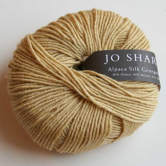Alpaca Silk Georgette - Maize (753) - 50 g