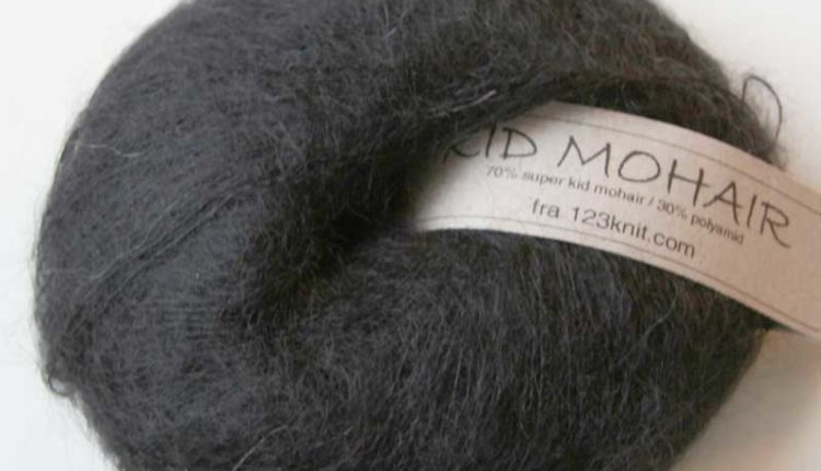 Kid Mohair - Sort (32) - 25 g